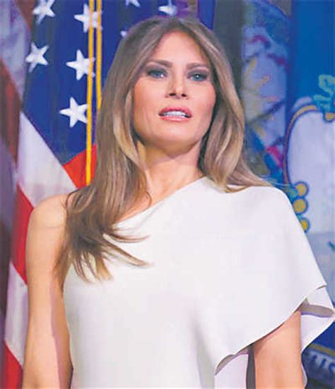 melania to be 1st foreign born us first lady since 1820s