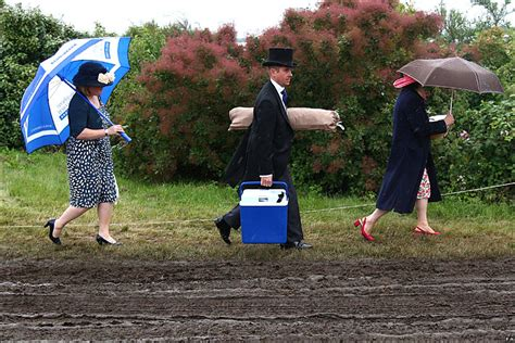 Last Day At Royal Ascot Resembles A Muddy Day At Glastonbury by Sport Royal Ascot Photos From Day Four