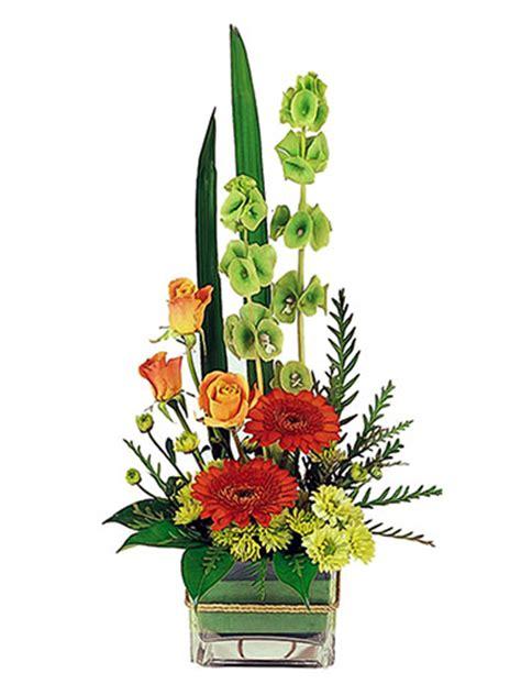 flowersales modern boxed flower arrangement