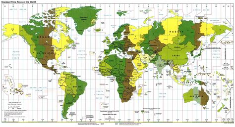world clock and time zones
