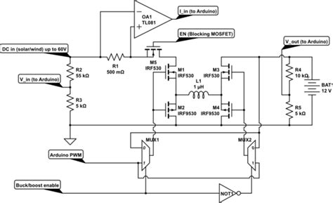 single inductor dc excited circuits dc to boost circuit diagram dc electrical circuits elsavadorla
