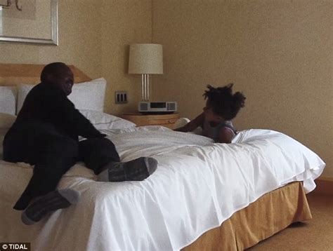 in daddys bed beyonce features father matthew knowles and daughter blue