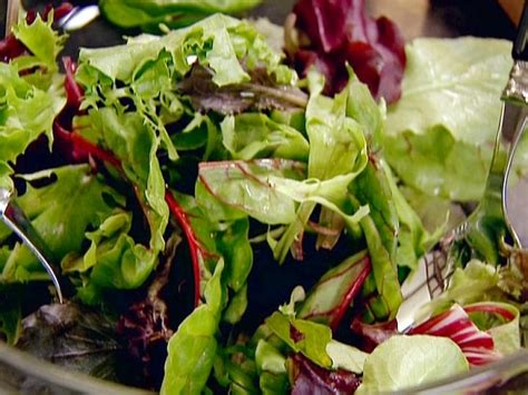 vinaigrette  green salad recipe ina garten food network