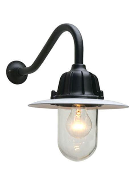 Outdoor Corner Lights Well Glass Fitting With Reflector 7666