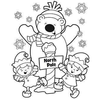 christmas coloring pages free n fun north pole coloring page free christmas recipes