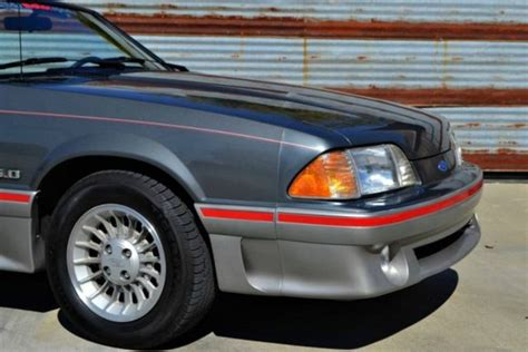 89 Mustang Auto Transmission by 89 Gt Convertible 41k Orig Auto Bone Stock For