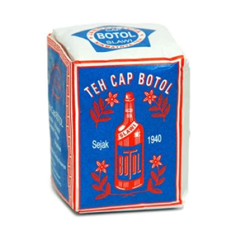 Teh Hijau Leci 250gr teh botol 40gr biru