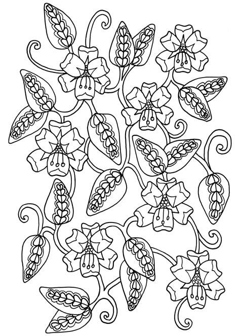 doodle flora two small floral doodles