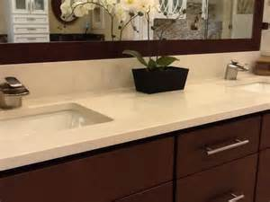 Quartz Vanity Countertop Pompeii Quartz Barcelona Vanity Tops And Side Splashes