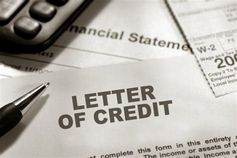 Letter Of Credit Discounting Process Letters Of Credit Family Bank