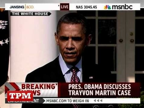 Trayvon Martin Memes - obama quot if i had a son he would look like trayvon quot youtube
