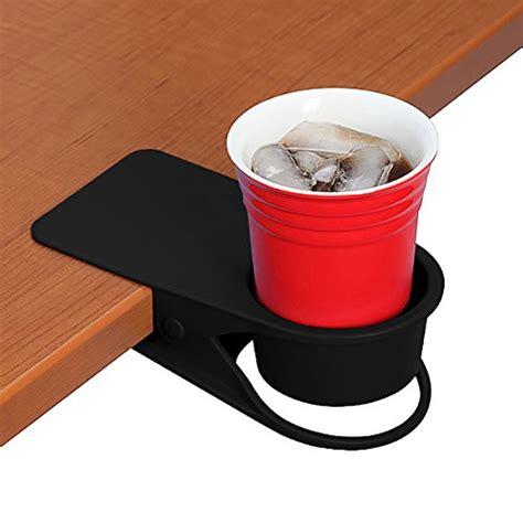 Coffee Cup Holder Clip Penjepit Gelas yoy home office table desk side clip water drink beverage soda coffee mug holder