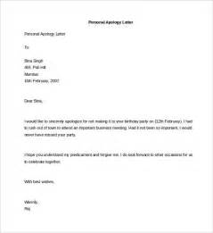 personal letter format exles how to write a formal letter of apology to fresh