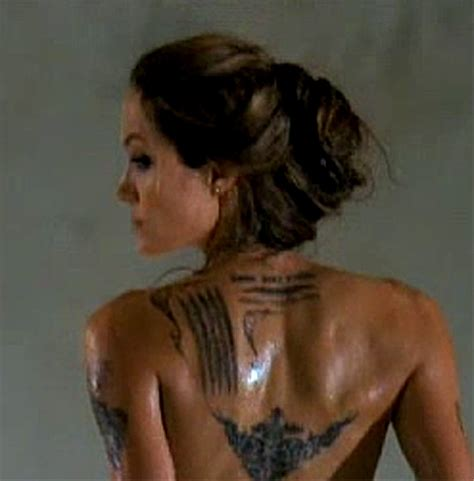 angelina jolie tattoo in wanted movie diselfcore angelina jolie wanted hand tattoo