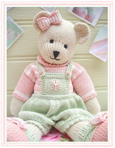 teddy knitting patterns free teddy knitting pattern pdf plus free