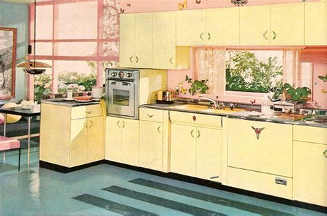 yellow vintage kitchen a 1956 yellow pink aquamarine youngstown kitchen so