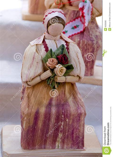 corn husk dolls price corn husk doll stock photo image 6020090