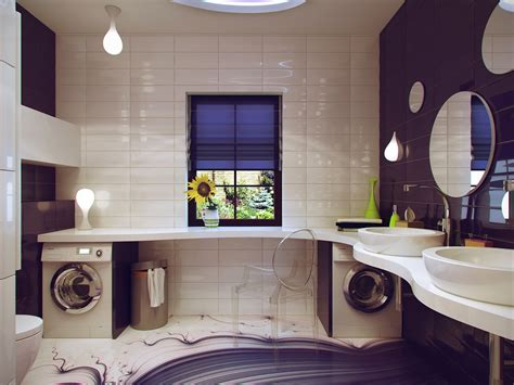 purple and white bathroom small bathroom design