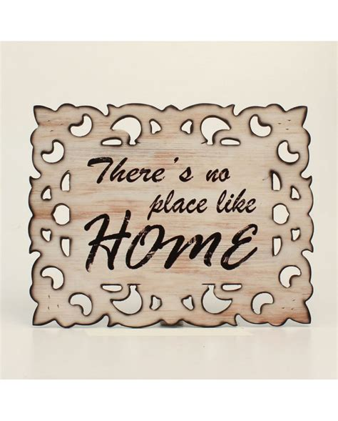 western moments 174 quot no place like home quot wall sign fort brands