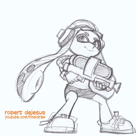 Splatoon 2 Sketches by Splatoon By Banzchan On Deviantart