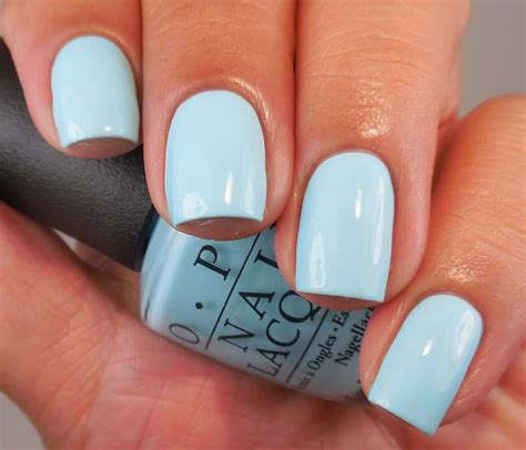 opi light blue colors best 25 light blue nails ideas on acrylic
