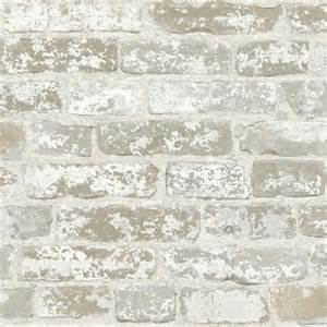 Northwoods Rugs Faux Grey And White Brick Wallpaper Wallpaper Houston