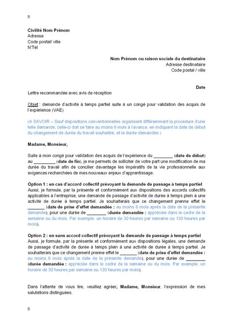 Exemple De Lettre Vae Modele Cv Validation Des Acquis Cv Anonyme