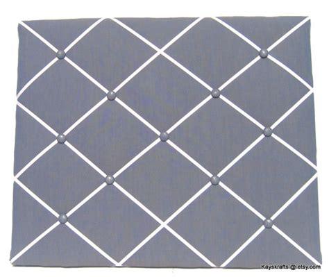 pattern for french memo board dark gray memory board french memo board fabric by kayskrafts