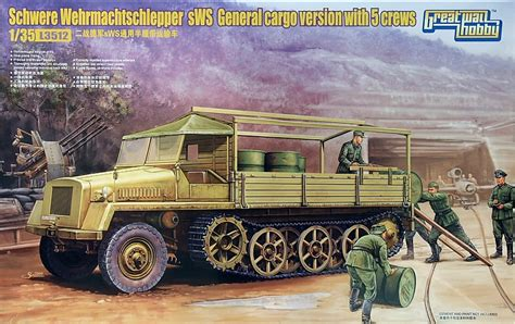Det Lupee by Kit Review Schwerer Wehrmachtsschlepper Great Models