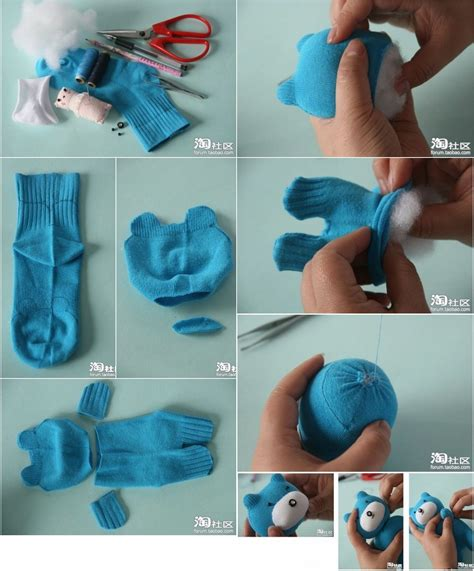 make a sock teddy bear find fun art projects to do at home and arts and crafts ideas find