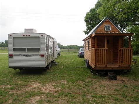 tiny home on trailer cing or living rvs as tiny houses