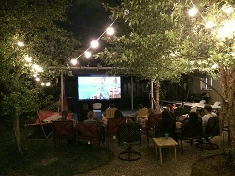 backyard movie night outdoor movie night in backyard back yard ideas pinterest