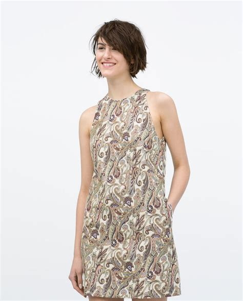 Dress Of The Day Jacquard Dress by A Line Jacquard Dress From Zara Paisley Dresses Day
