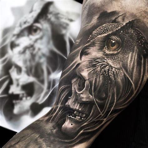 owl tattoo gun best 25 owl skull tattoos ideas on pinterest owl