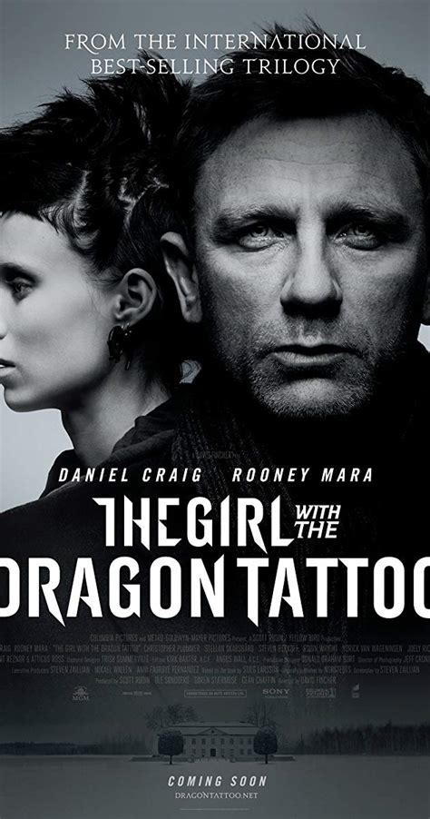 the girl with the dragon tattoo imdb the with the 2011 imdb