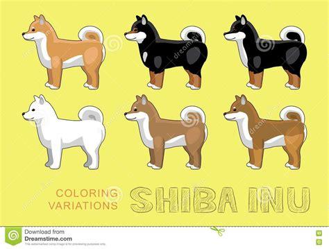 shiba inu colors shiba inu coloring shiba inu coloring