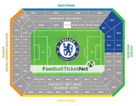 stamford bridge away section chelsea vs manchester united 05 11 2017 football ticket net