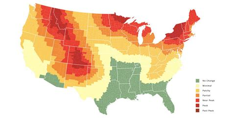 fall colors map the only fall foliage map you need to plan a