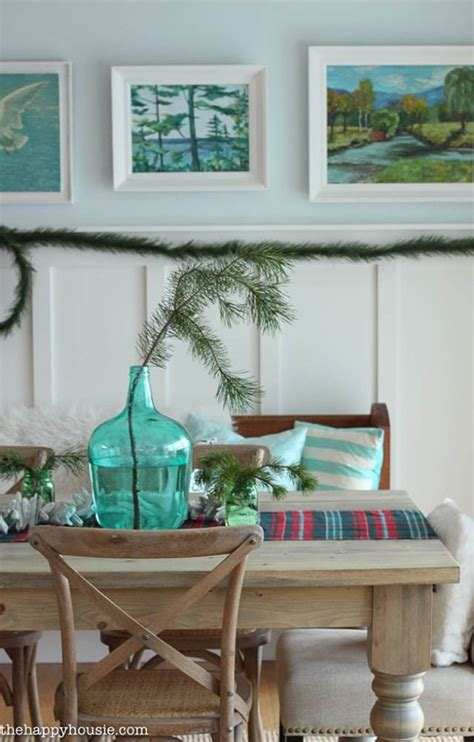 coastal xmas decor home tours the happy housie house of turquoise
