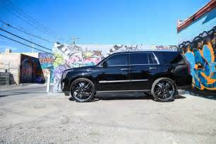 Cadillac Escalade On 30s Cadillac Escalade On 30 Inch Forgiato Wheels