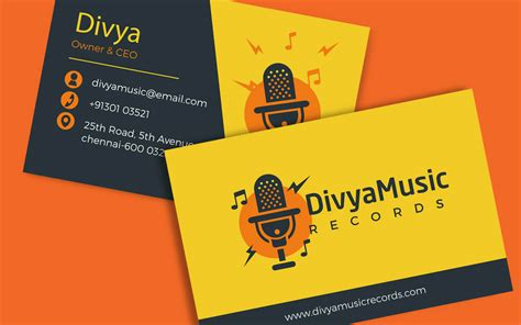 Business Card Template Musician by Plastic Business Cards In Chennai Images Card Design And