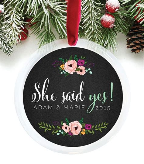 best christmas gift for newly engaged best 25 engagement ornaments ideas on personalized engagement gifts wedding gift