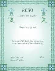 free reiki certificate templates reiki certificates for you