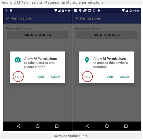 android permission android working with marshmallow m runtime permissions