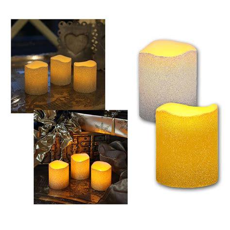 candele senza cera 3 set led candele in vera cera tremolante senza fiamma