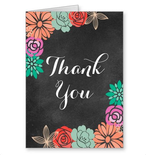 brides thank you cards template 15 bridal shower thank you cards psd eps ai free