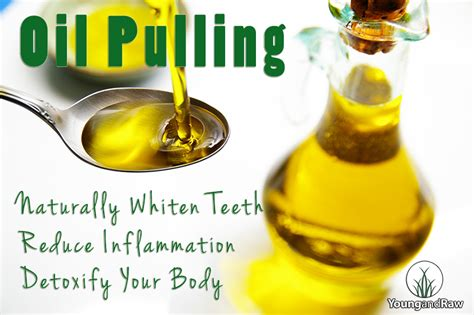 Ayurvedic Pulling For Detox by Pulling To Naturally Whiten Teeth Reduce Inflammation