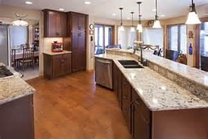burnsville kitchen remodel cherry wood cabinetry