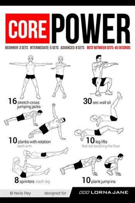 core workouts images  pinterest work outs