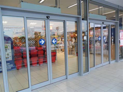 centro porte porte scorrevoli centro commerciale fedi automatismi